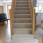 Oak Staircase straight