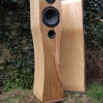 SPEAKERS spalted beech