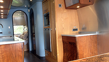 Airstream interiors